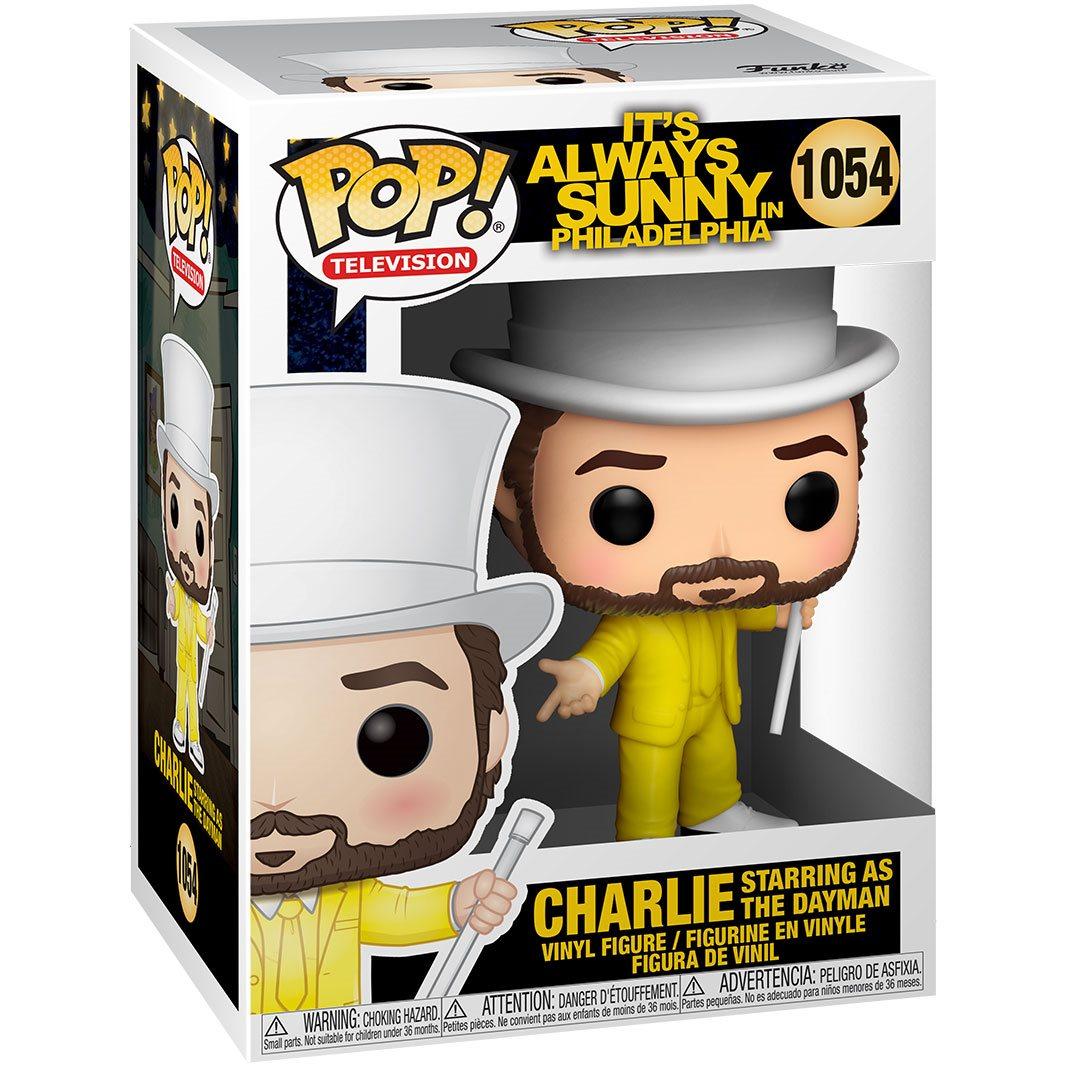 PRÉ VENDA: Funko Pop! Charlie as The Dayman: It's Always Sunny In Philadelphia #1054 - Funko