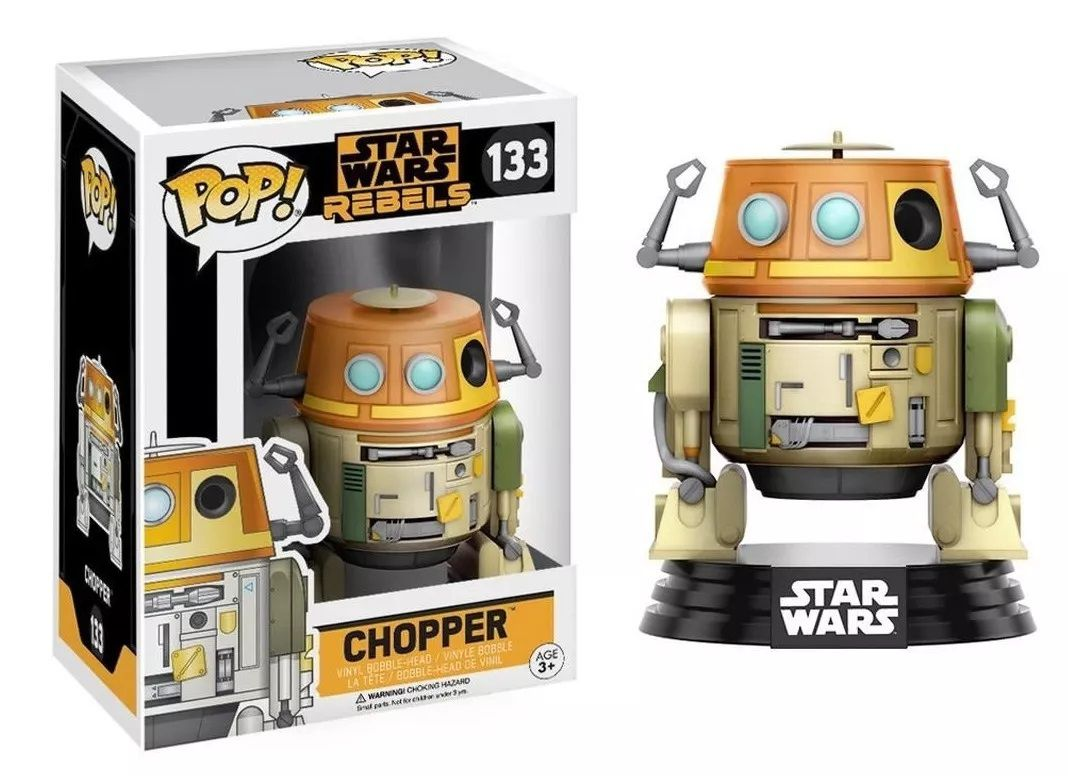 Funko Pop! Chopper: A Star Wars Rebels #133 - Funko (Apenas Venda Online)