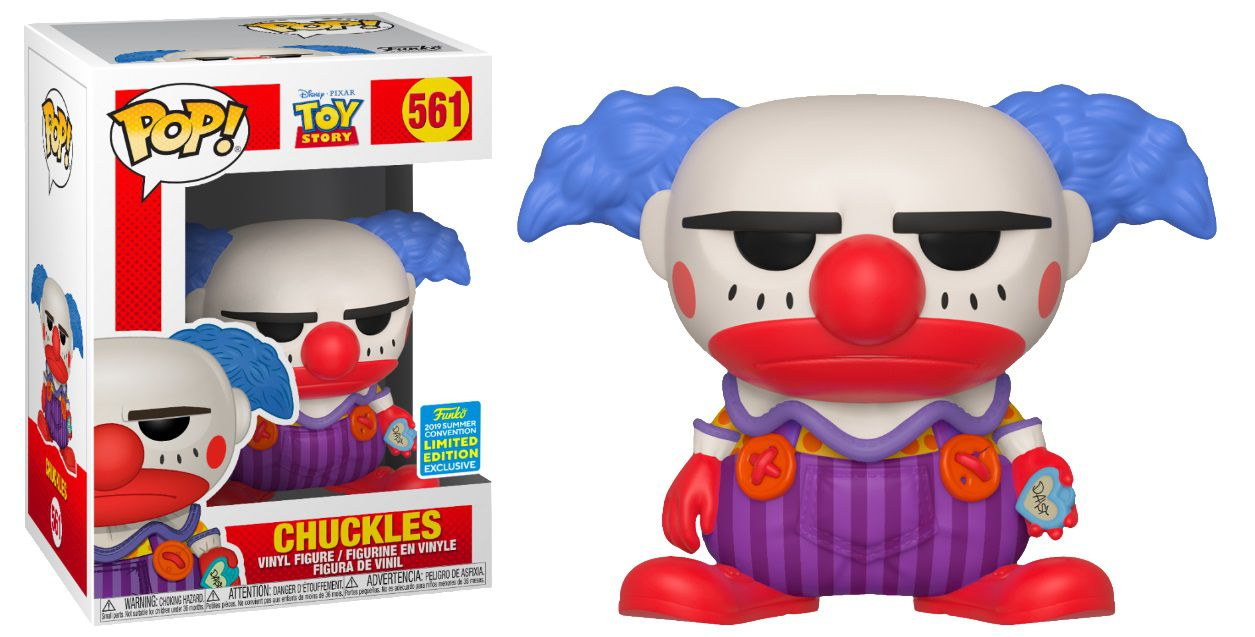 Pop! Chuckles: Toy Story (Exclusivo SDCC) #561 - Funko