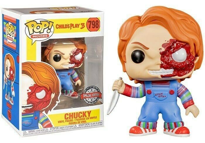 Pop! Chucky: Brinquedo Assassino 3 (Child's Play 3) Exclusivo #798 - Funko