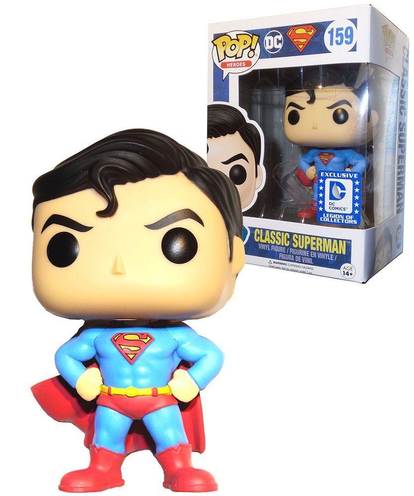 Funko Pop Classic Superman (Exclusivo): Superman #159 - Funko