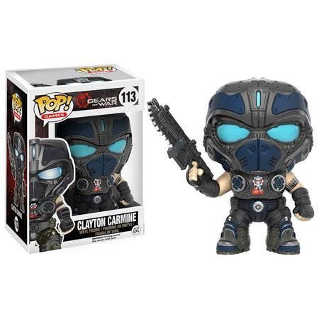 Funko Pop Clayton Carmine: Gears of War #113 - Funko