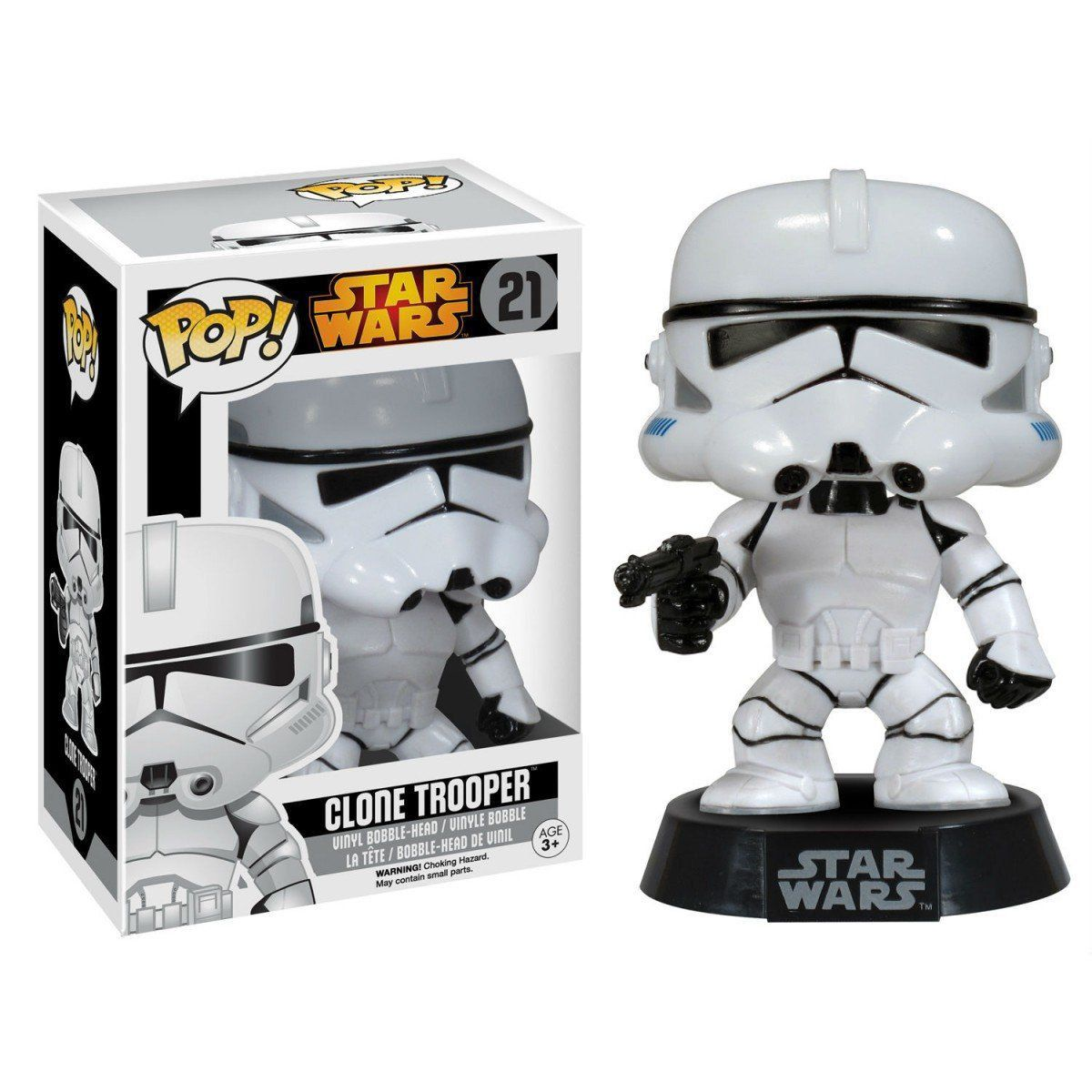 Funko Pop Clone Trooper: Star Wars #21 - Funko