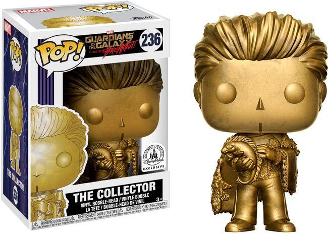 Funko Pop! Colecionador (The Collector): Guardiões da Galáxia (Exclusivo) #236 - Funko