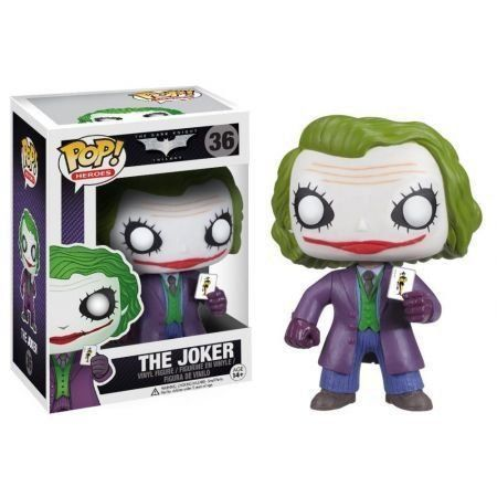 Funko Pop Coringa (Joker): The Dark Knight #36 - Funko