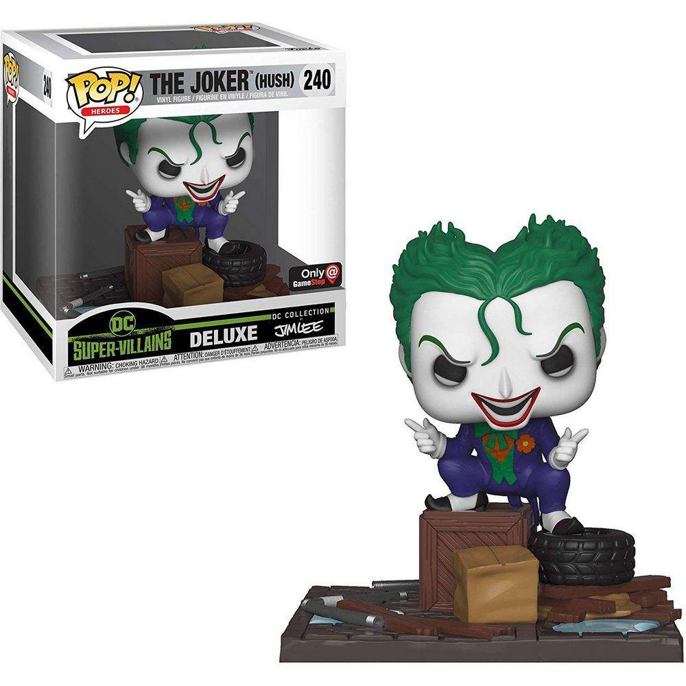 Funko Pop! Coringa (The Joker Hush): DC Supervillains Jim Lee (Exclusivo) #240 - Funko