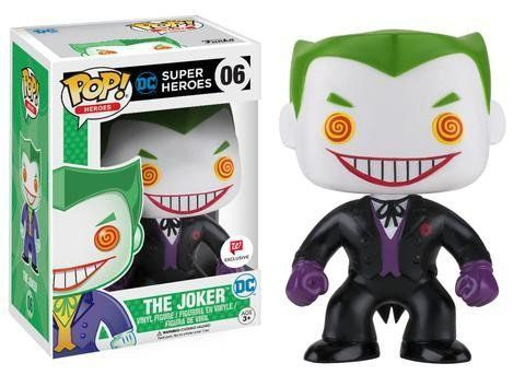 Funko Pop Coringa Traje Preto (The Joker Black Suit): DC Super Heroes Exclusivo #06 - Funko