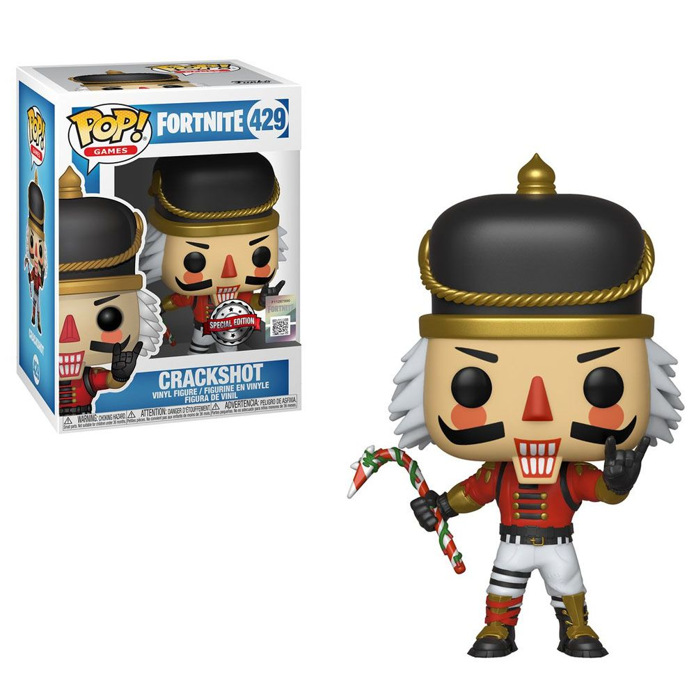 Pop! Crackshot: Fortnite (Exclusivo) #429 - Funko (Apenas Venda Online)