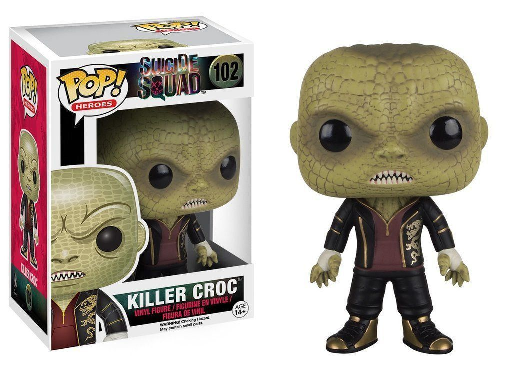 Funko Pop Crocodilo (Killer Croc): Esquadrão Suicida #102 - Funko