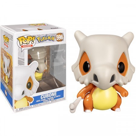 Funko Pop! Cubone: Pokemon S3 #596 (Game) - Funko
