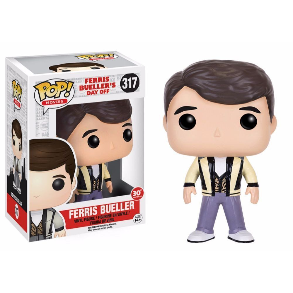 Funko Pop Ferris Bueller: Curtindo a vida adoidado #317 - Funko