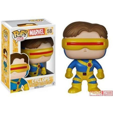 Funko Pop Ciclope (Cyclops): Marvel: X-Men #58 - Funko