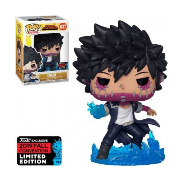 Pop! Dabi: Boku no Hero Academia (My Hero Academia) (Exclusivo NYCC) #637 - Funko