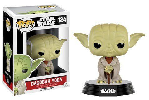 Funko Pop Dagobah Yoda: Star Wars #124 - Funko