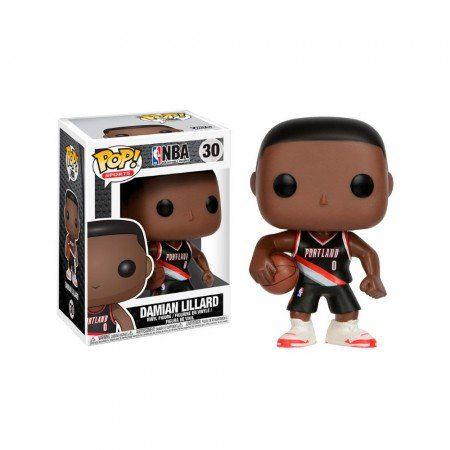 Funko Pop! Damian Lillard: NBA Portland Trail Blazers #30 - Funko (Apenas Venda Online)