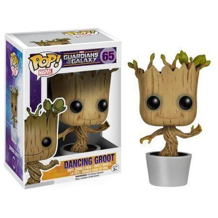 Funko Pop! Dancing Groot: Guardiões da Galáxia #65 - Funko
