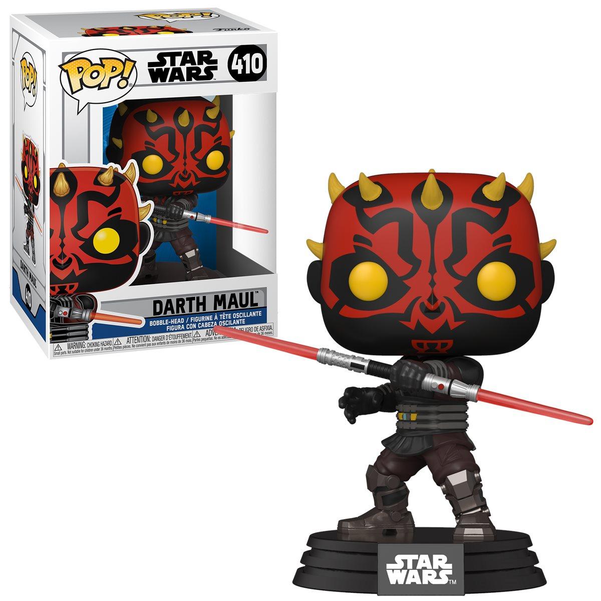 PRÉ VENDA: Funko Pop! Darth Maul: Star Wars: The Clone Wars #410 - Funko