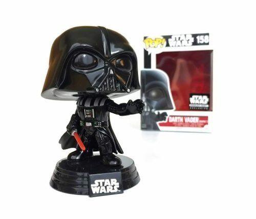 Pop Darth Vader (Exclusivo): Star Wars #158 - Funko