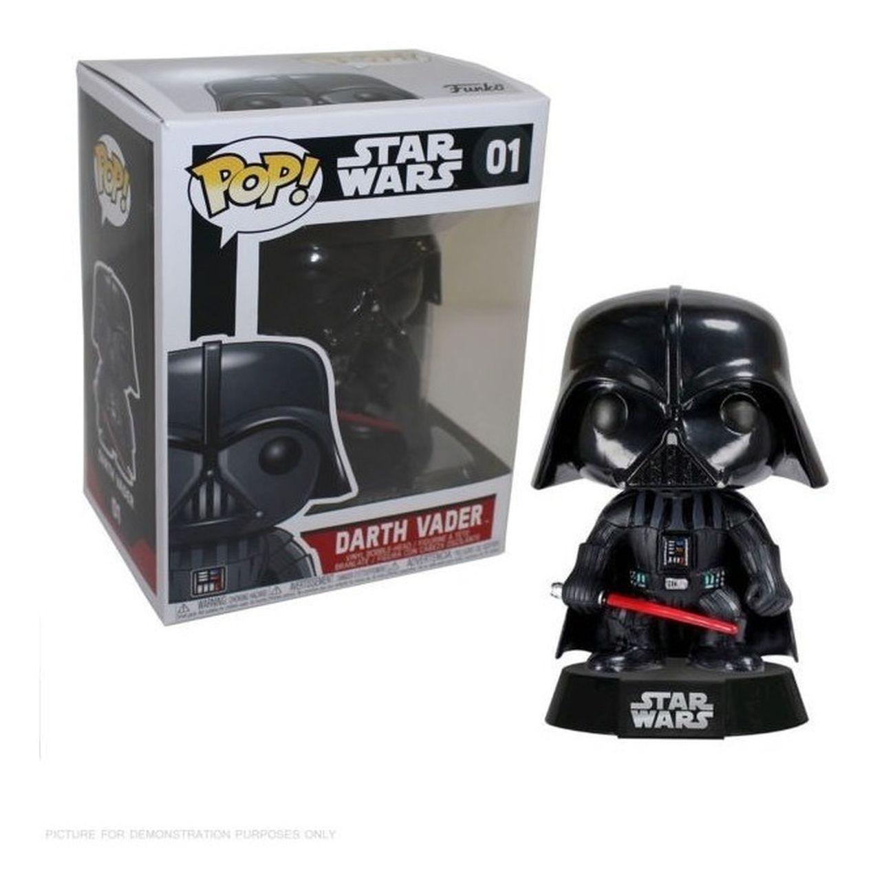 Funko Pop Darth Vader: Star Wars #01 - Funko