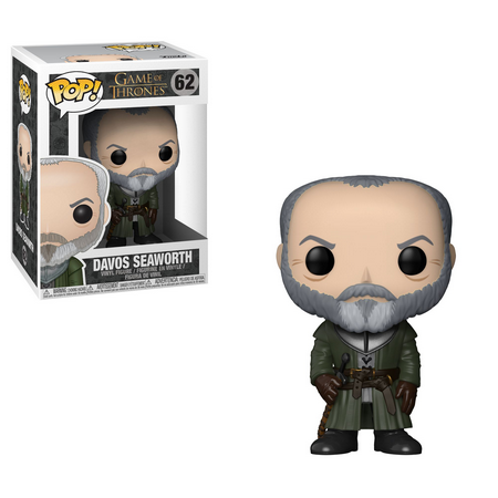 Funko Pop! Davos Seaworth: Game of Thrones  #62 - Funko