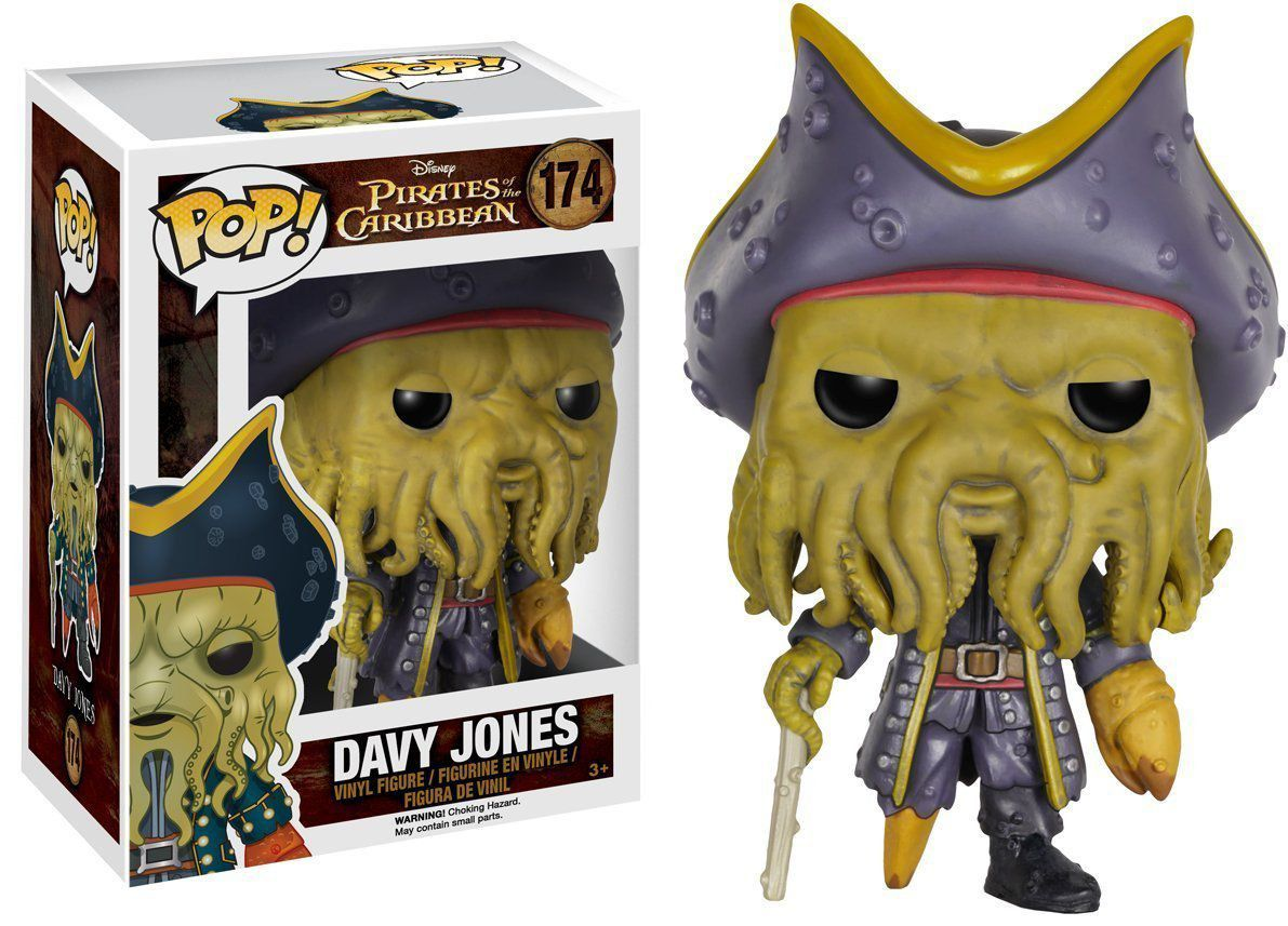 Funko Pop Davy Jones: Piratas do Caribe #174 - Funko