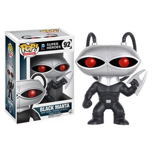 Funko Pop Arraia Negra (Black Manta): DC Comics #92 - Funko