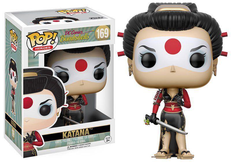 Funko POP! DC Comics Bombshells: Katana #169 - Funko