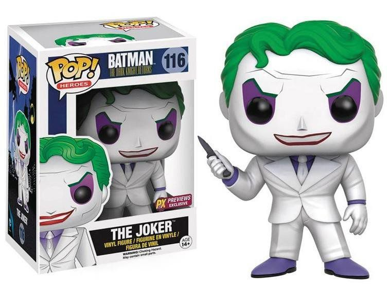 Funko POP! Dc Comics: Joker The Dark Knight Exclusivo - Funko