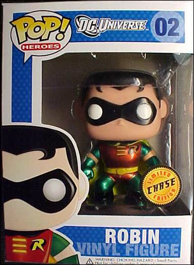 Funko POP! Dc comics: Robin Limited Chase Edtion- Funko