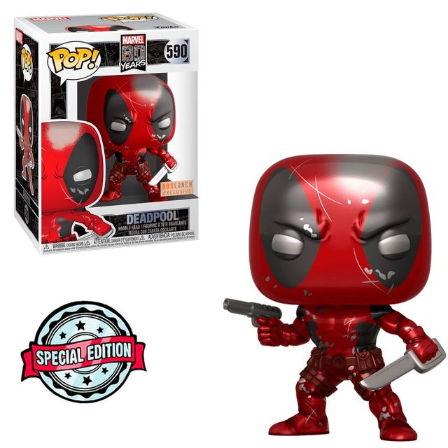 Funko Pop! Deadpool: Deadpool (Marvel 80 Years) #590 - Funko