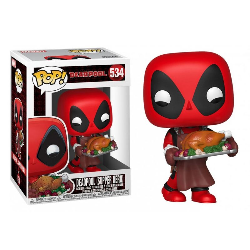 Funko Pop! Deadpool (Supper Hero): Deadpool #534 - Funko