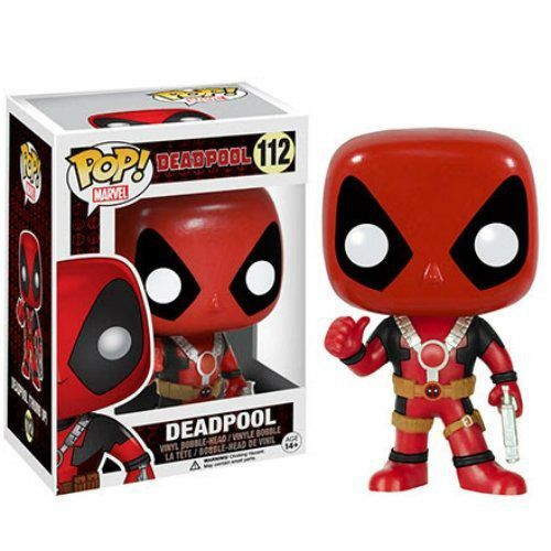 Funko Pop Deadpool Thumbs Up (Com polegar para cima): Marvel #112 - Funko