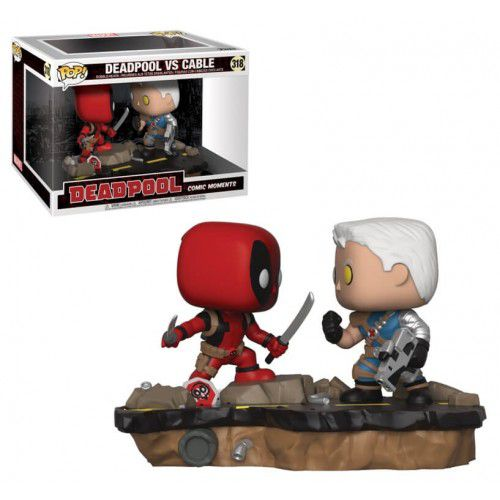 Funko Pop! Deadpool Vs Cable: Deadpool (Comic Moments) #318 - Funko