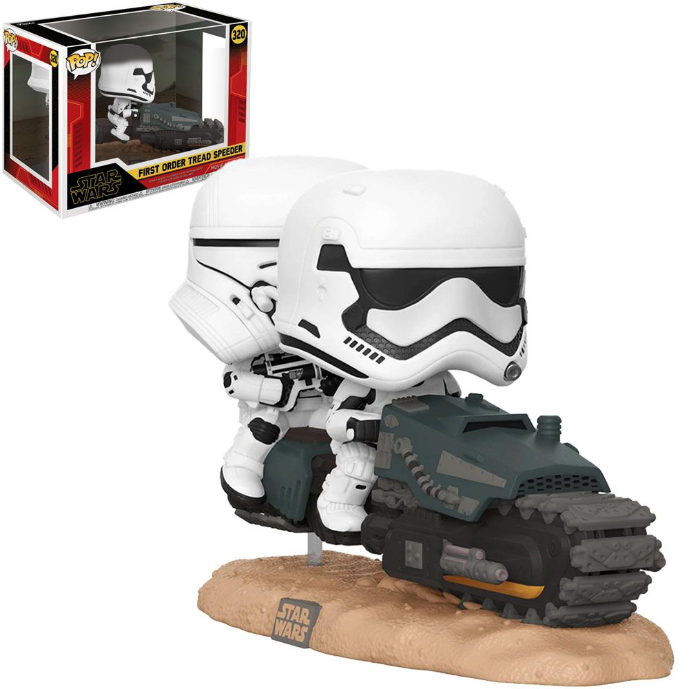 Pop! Deluxe Stormtropper (First Order Tread Speeder): Star Wars #320 - Funko