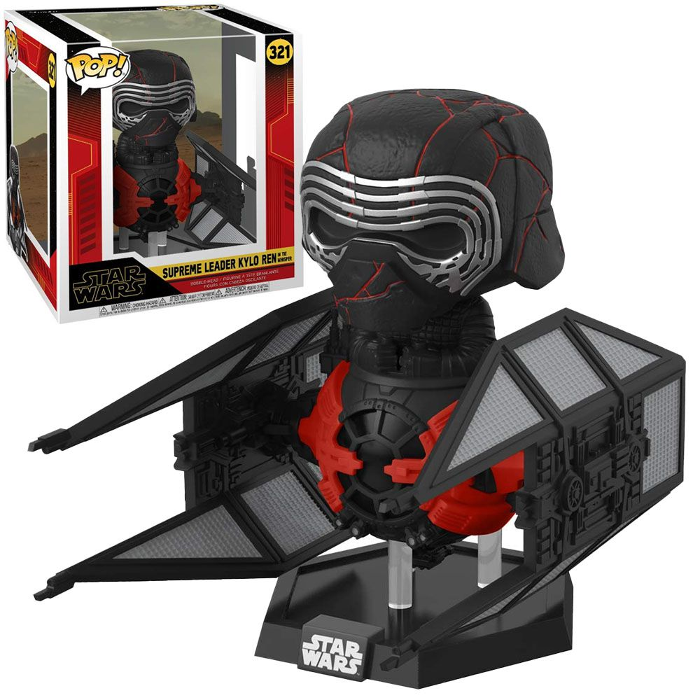 Pop! Deluxe Supreme Leader Kylo Ren (In The Tie Whisper): Star Wars #321 - Funko