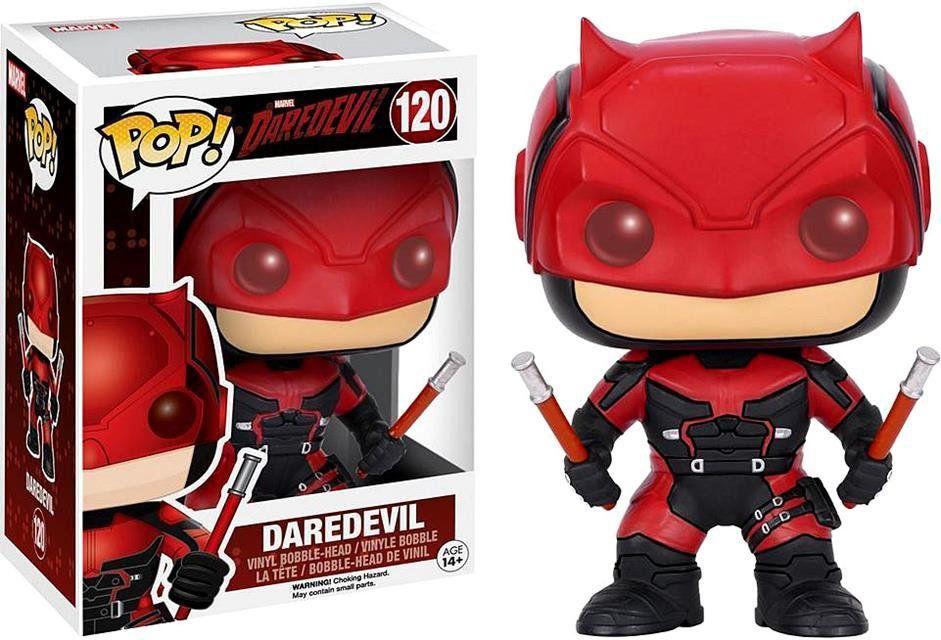 Funko Pop Demolidor (Daredevil) Red Suit: Marvel #120 - Funko