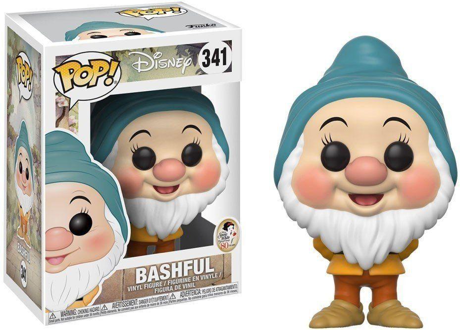 Funko Pop Dengoso (Bashful): Branca de Neve e os Sete Anões (Disney) #341 - Funko