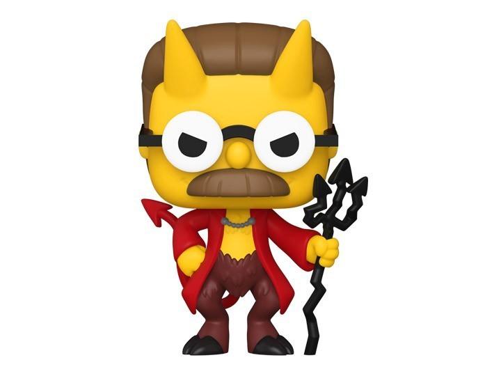 Funko Pop! Devil Flanders: Os Simpsons Casa de Horror: ( The Simpsons Treehouse of Horror ) #1029 - Funko