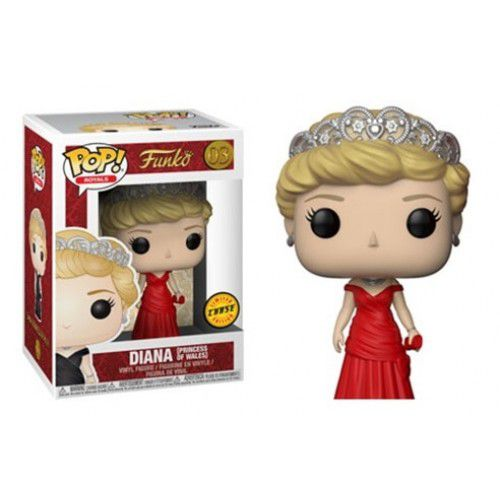 Funko Pop! Diana (Princess of Wales) Chase: Royals #03 - Funko