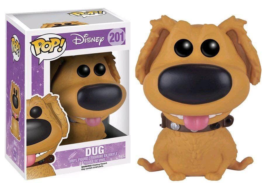 Funko Pop Dug: Disney Up: Altas Aventuras #201 - Funko