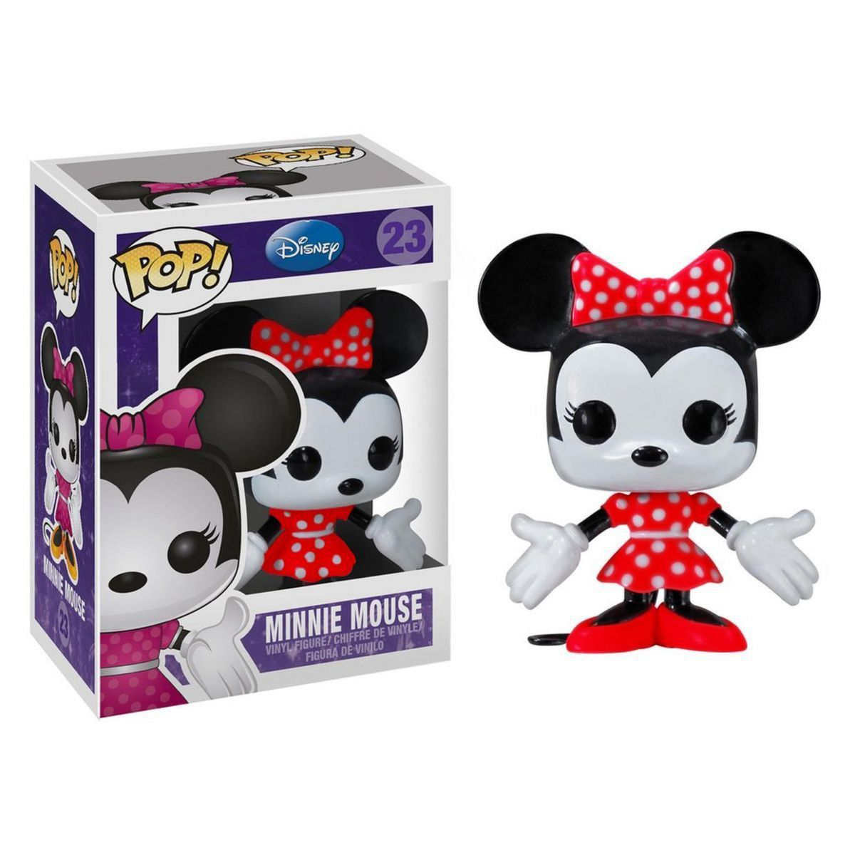 Funko Pop Minnie Mouse (Vermelho): Disney #23 - Funko