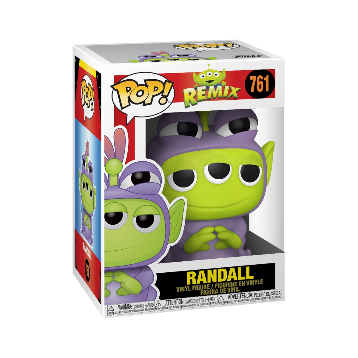 Funko Pop! Disney: Pixar Alien Remix - Alien as Randall #761 - Funko