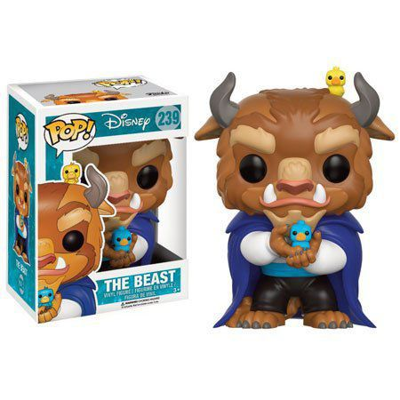 Funko Pop Fera (The Beast): Disney: Bela e a Fera #239 - Funko