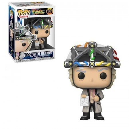Funko Pop! Doc Brown de Capacete (Helmet): De Volta Para o Futuro (Back to the Future) #959 - Funko