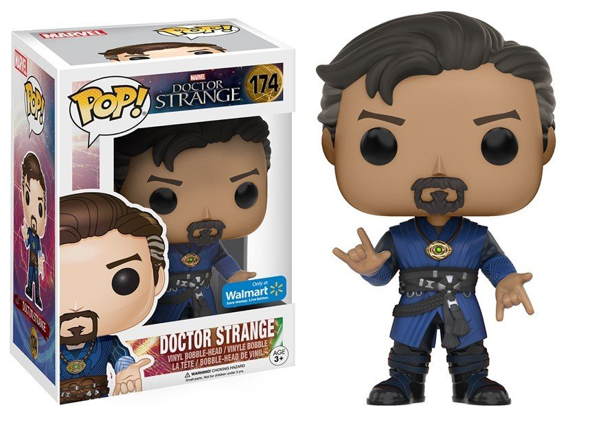 Funko Pop Doutor Estranho Exclusivo (Doctor Strange): Marvel Filme (Movie) #174 - Funko