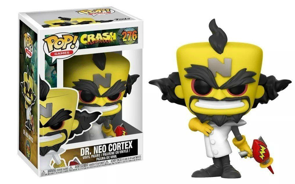 Funko Pop! Dr. Neo Cortex: Crash Bandicoot #276 - Funko