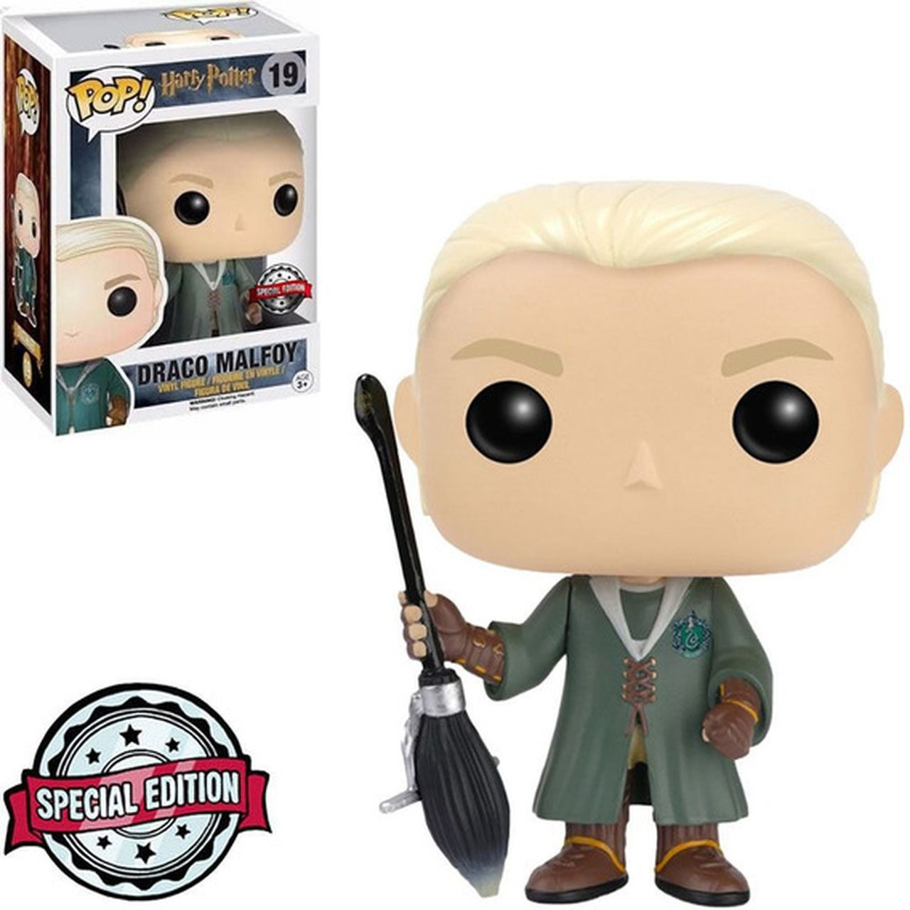 Pop! Draco Malfoy: Harry Potter (Exclusivo) Special Edition #19 - Funko