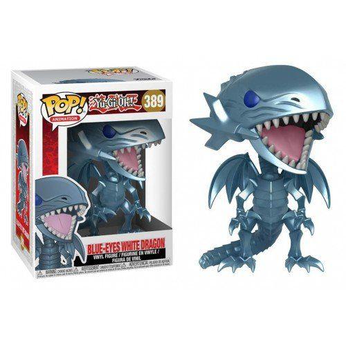 Funko Pop! Dragão Branco de Olhos Azuis (Blue-Eyes White Dragon): Yu-Gi-Oh! #389 - Funko