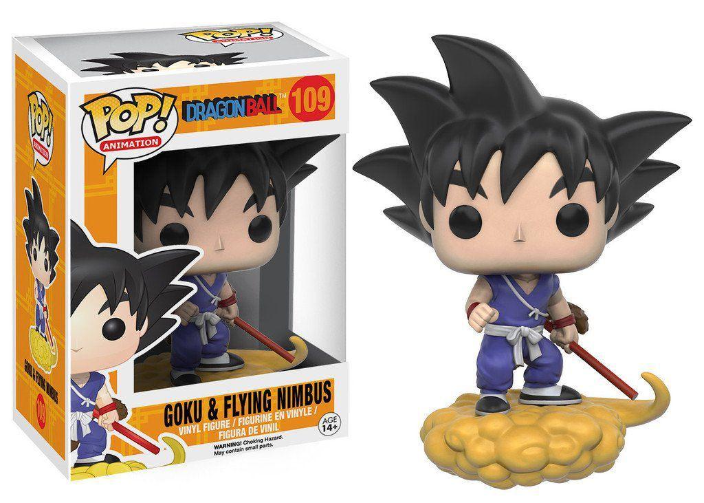 Funko Pop Goku e Nuvem Voadora: Dragon Ball #109 - Funko