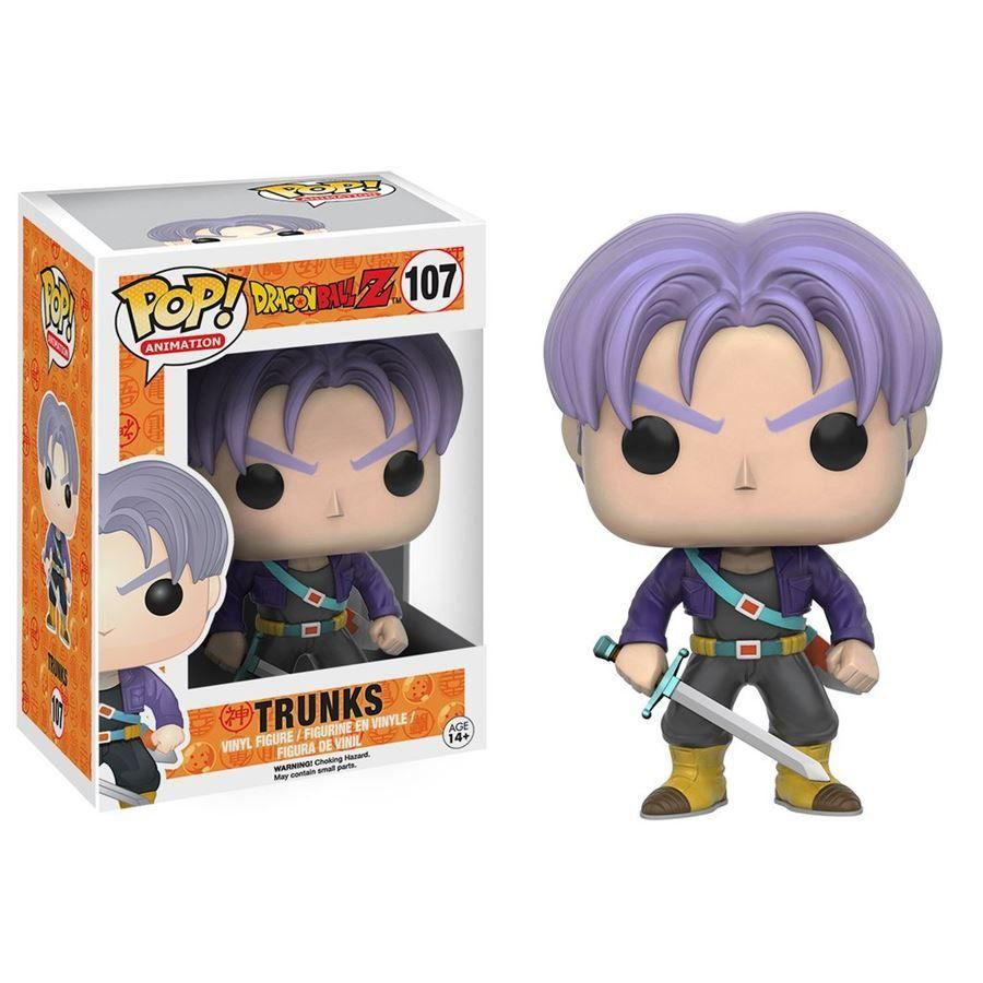 Funko Pop Trunks: Dragon Ball Z #107 - Funko